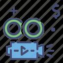 movie, sale, camera, video