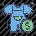business, children, clothes, discount, fashion, sale icon