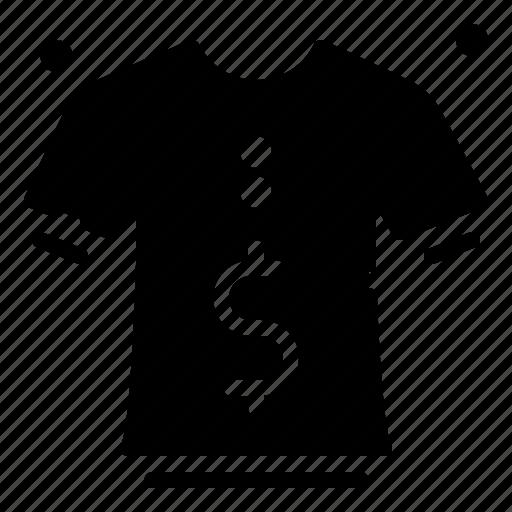 clothes, fashion, man, price, sale icon