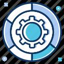 big data, optimize, preferences, seo, settings icon