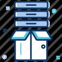 big data, bigdata, cloud, data, data server, database, product icon