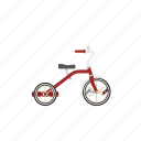 bicycle, bike, isolated, tricycle, trike