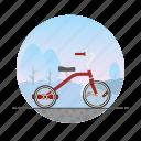bicycle, bike, children's bike, circle, kid's bike, tricycle