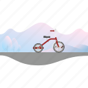 banner, bicycle, bike, kid's bike, tricycle icon