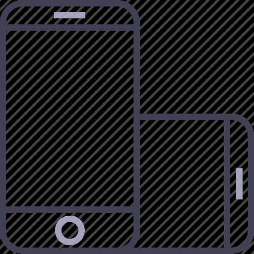 apple, iphone, landscape, landscape mode, phone, smartphone icon