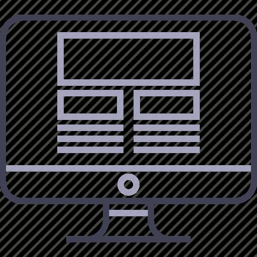 apple, browser, computer, desktop, imac, web icon