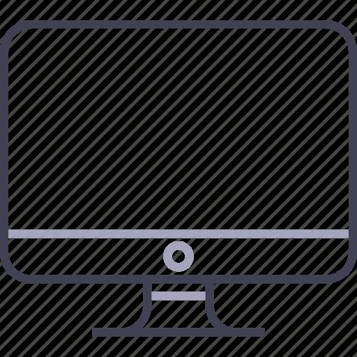 apple, blank, computer, desktop, imac icon
