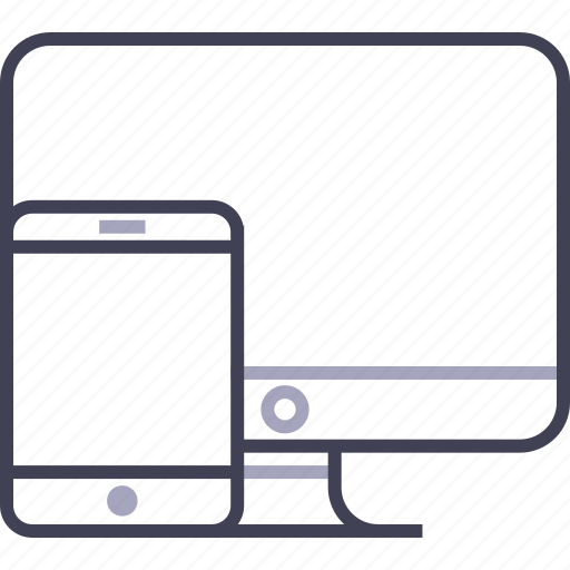 apple, computer, imac, ipad, laptop, responsive icon