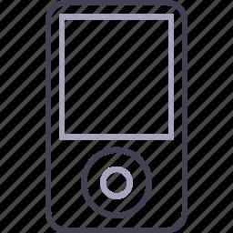 apple, ipod, ipod classic, mp3 player, music, nano icon