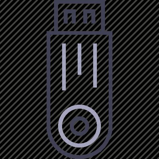 fdd, flash drive, memory, stick, usb icon