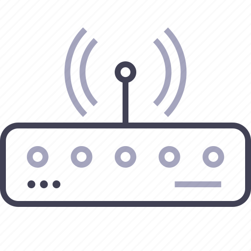 connection, internet, router, wifi, wireless icon