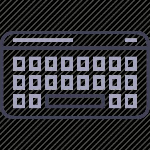 bluetooth, keyboard, type, wireless icon