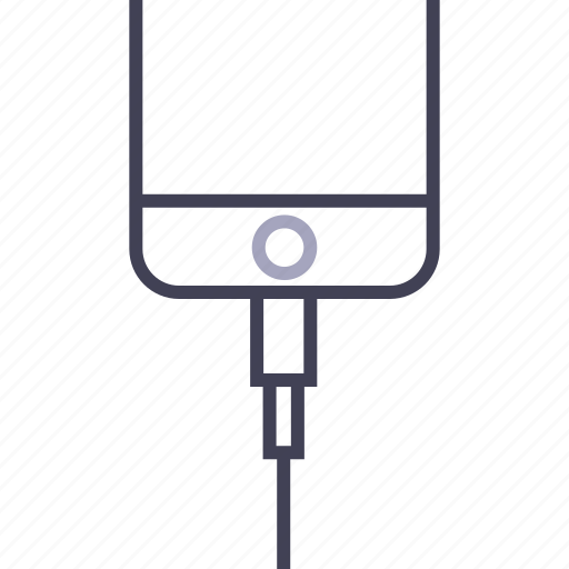 charge, connect, connector, iphone, lightning, plug in, smartphone icon