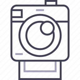 camera, multimedia, photo, photography, polaroid icon