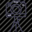 camera, digital, multimedia, photo, tripod