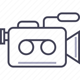 camera, digital, film, movie, multimedia, video icon