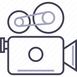 camera, film, movie, multimedia, video icon