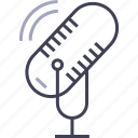 audio, microphone, multimedia, record icon