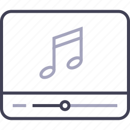audio, multimedia, music, play, player, song icon