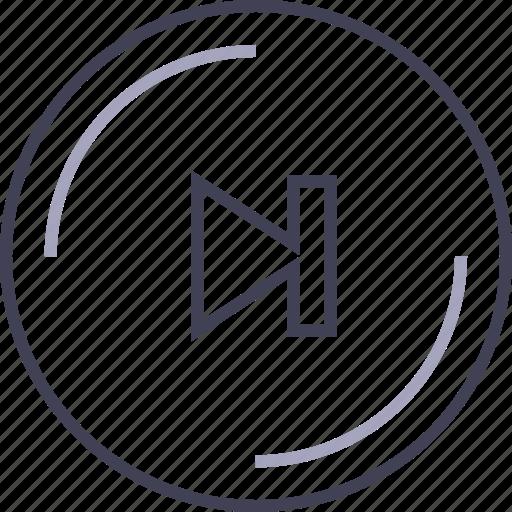 controls, forward, multimedia, player icon