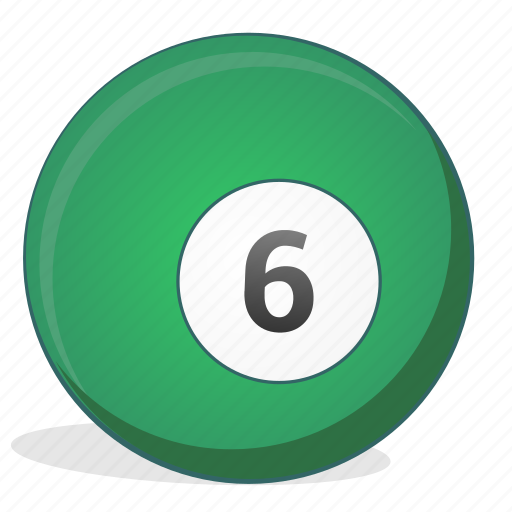 American, ball, billiard, six, game icon - Download on Iconfinder