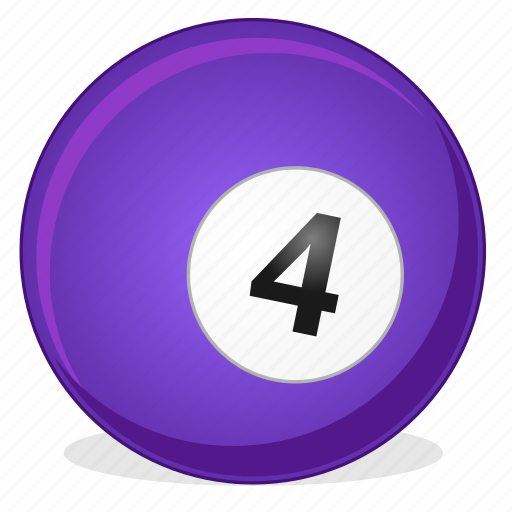 American, ball, billiard, four, game icon - Download on Iconfinder