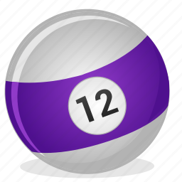 american, ball, billiard, game, twelve icon