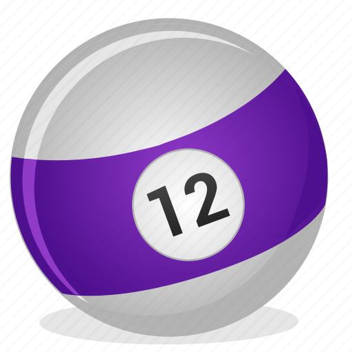 American, ball, billiard, twelve, game icon - Download on Iconfinder