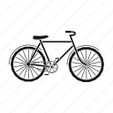 bicycle, bike, ecological, transport, travel, vehicle icon