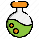 flasks, instrument, chemical, test, chemistry, science
