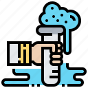 biochemical, experiment, research, science, tube icon