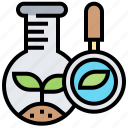 biology, environment, plant, research, science icon