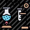 boiling, burner, chemical, distillation, experiments
