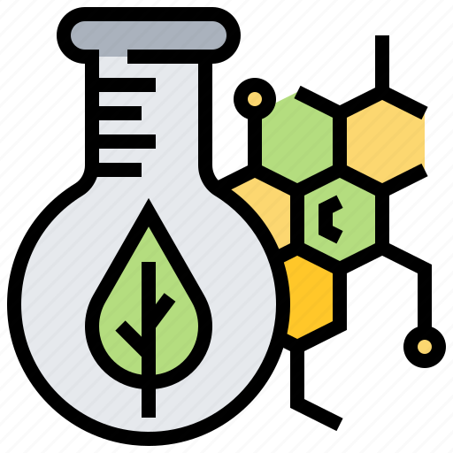 chemical, chlorophyll, extraction, pigment, plant icon