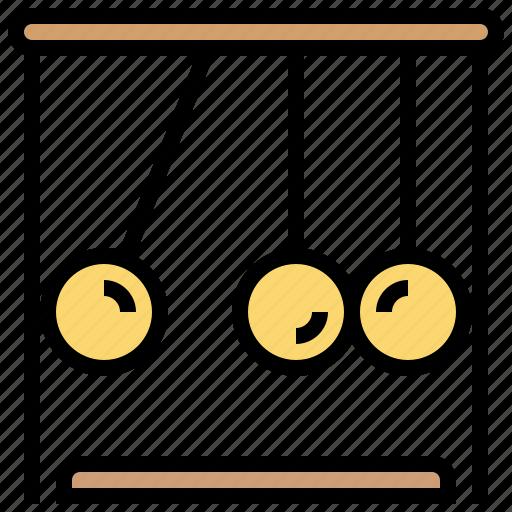 harmonic, motion, pendulum, physics, science icon