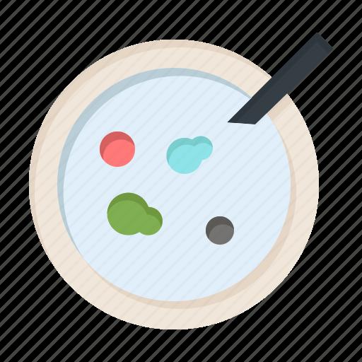 analysis, dish, medical, petri icon