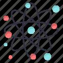 atom, molecule, particle, physics icon