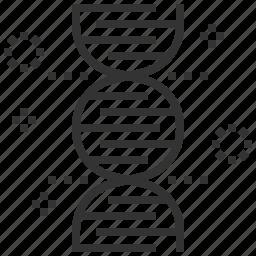biochemistry, chemistry, dna, generic, genetic, laboratory, science icon