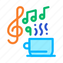biohacking, cup, drink, hot, music, relax