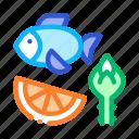 biohacking, fish, fruit, nutrients