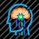 biohacking, head, impulses, nerve