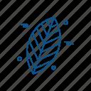 biology, lab, leaf, science icon