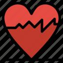 cardiogram, heart, pulse