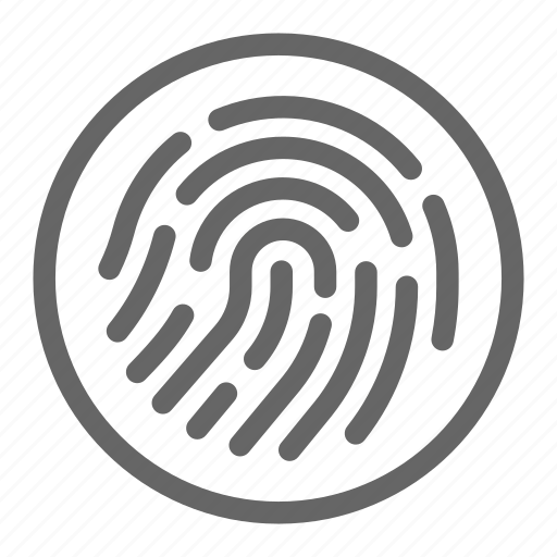biometric, finger, fingerprint, password, protection, scan, secure icon