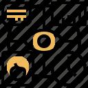 data, eye, recognition, scanning, verification icon