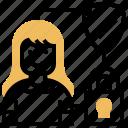 biometric, confidential, data, locked, security icon