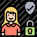 biometric, confidential, data, locked, security
