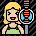 dna, helix, human, molecular, strand
