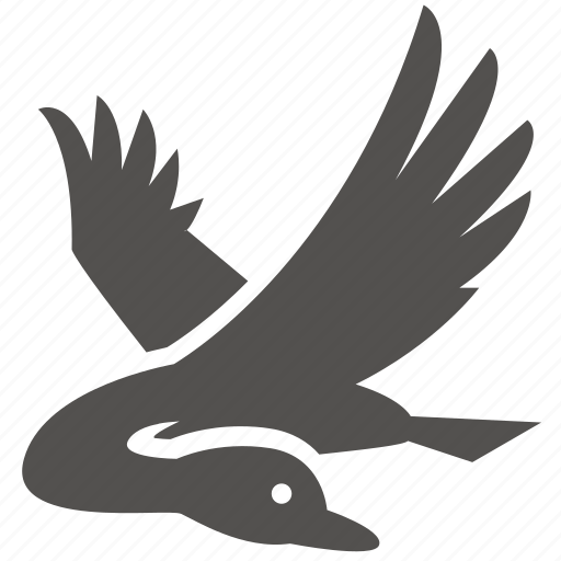 bird, duck, flight, goose, swan icon