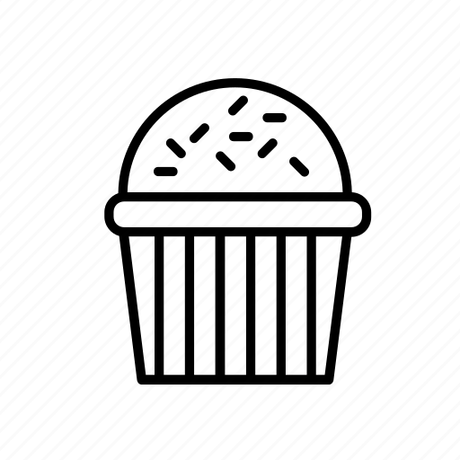 birthday, cake, celebrate, celebration, cupcake, decoration, party icon